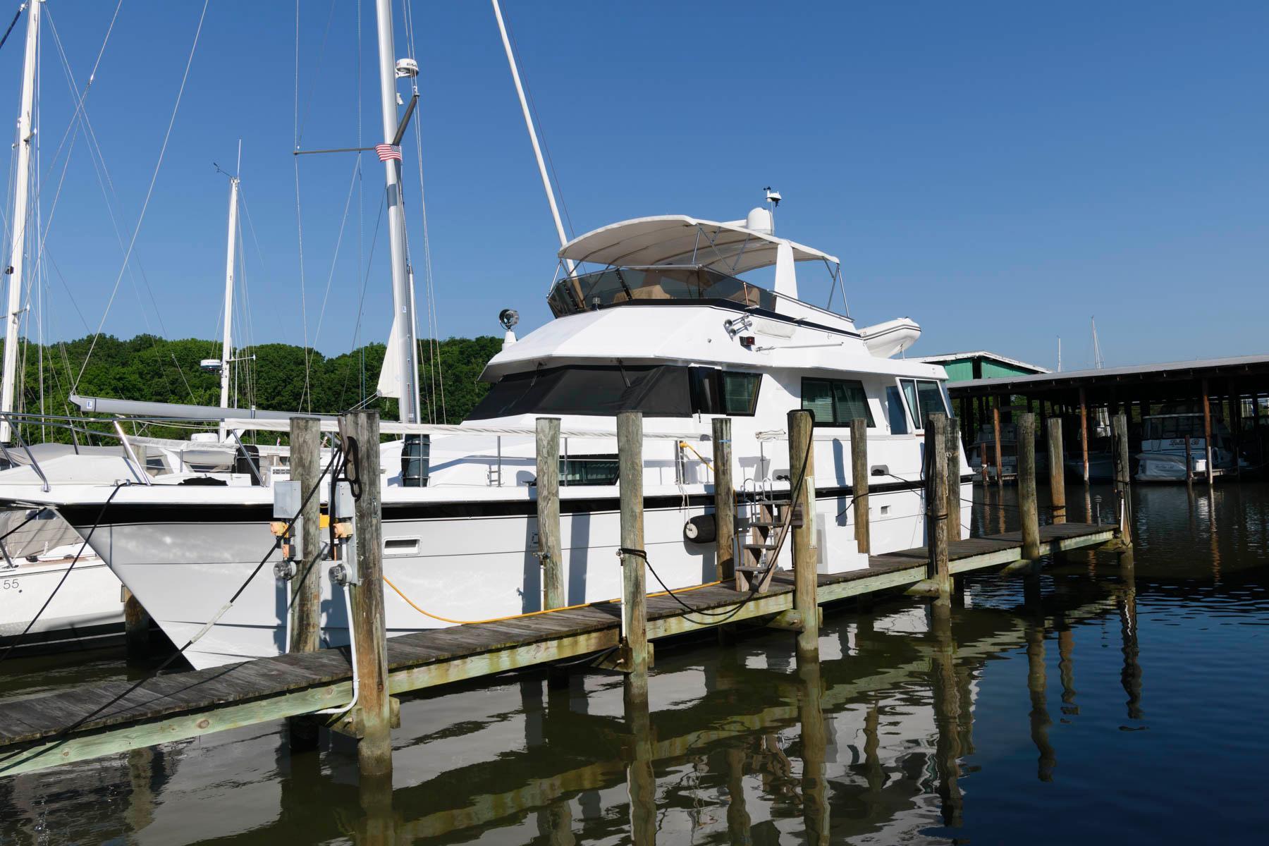1988 Hatteras 54 Motor Yacht